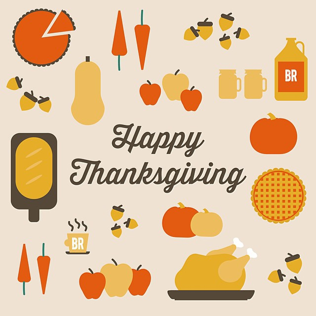 social media marketing, happy thanksgiving by nature & nurture creative