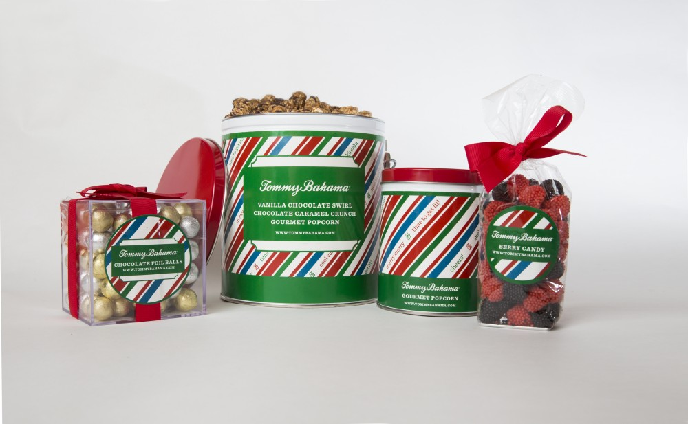Package Design for Tommy Bahama, Holiday Packaging by nature & nurture creative