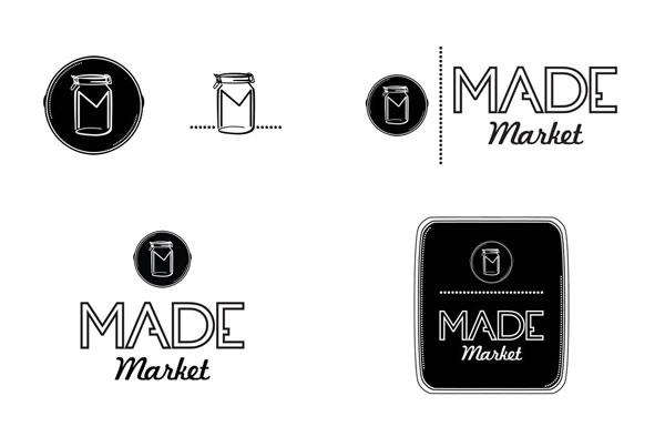 branding, made market logo study by nature & nurture creative