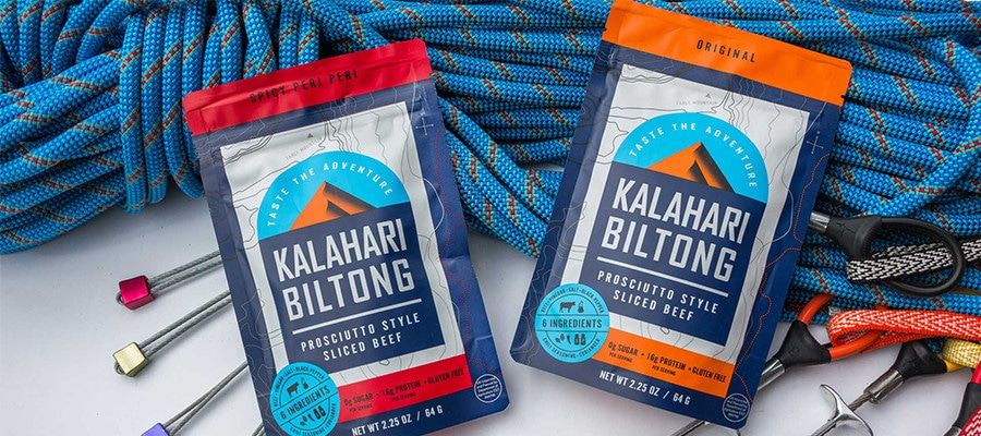 Biltong package design and lifestlye photoshoot