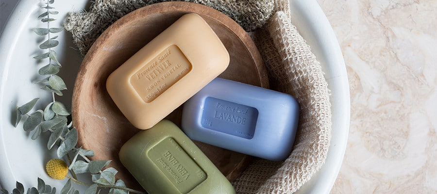 product photography and social media management for baudelaire soaps