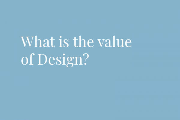 what is the value of design?