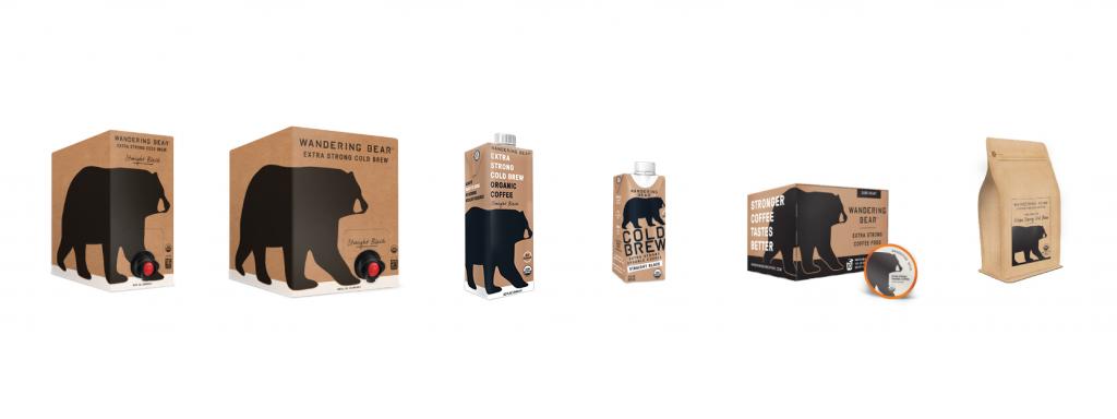 wandering bear new packaging